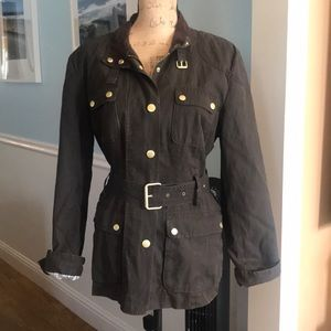 Super awesome Banana Republic Coat w belt Size XL